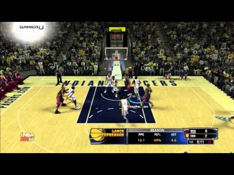 NBA 2K14 - Tiro