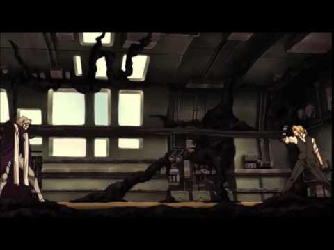 Fullmetal Alchemist: Conqueror of Shamballa - Ed vs Eckhart Alternate Score