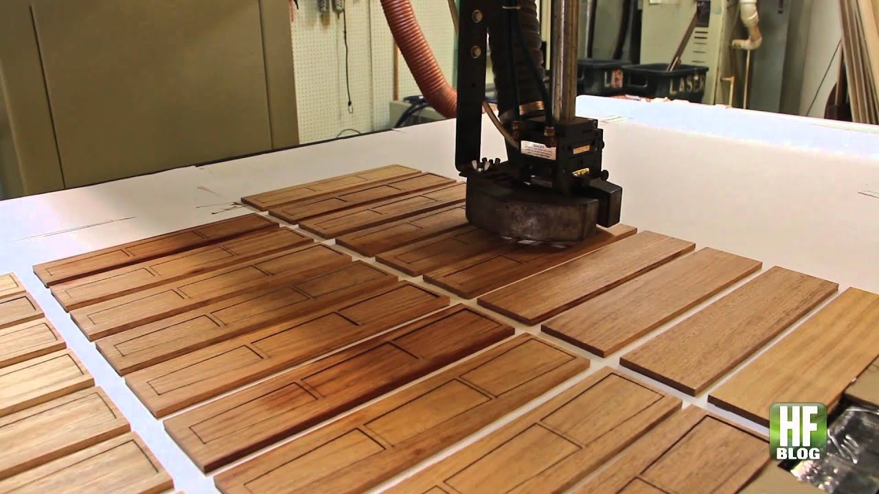 Oshkosh Designs Laser for Wood Floor Inlays and Borders - YouTube