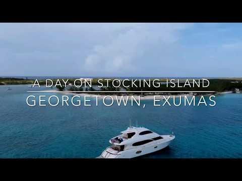 A Day on Stocking Island, Great Exuma, Bahamas