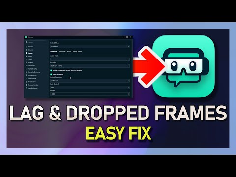 StreamLabs OBS - How to Fix Dropped Frames and Reduce Lag (Stream & Record)