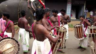 Elephant Chenda Melam Incredible India