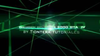 Como solucionar el error 2000 de GTA IV