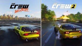 The Crew Wild Run vs The Crew 2 | Early Graphics & Sound Comparison