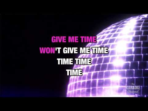 "Time (Clock Of The Heart) in the Style of ""Culture Club"" with lyrics (no lead vocal)"