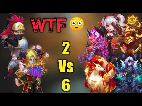 Ronin   Best Build 😎😎   Invincible Again   2 Vs 6 Moment   Deadly Duo   Castle Clash