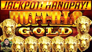 ⭐️⭐️ MASSIVE HANDPAY! BUFFALO GOLD SLOT MACHINE JACKPOT! $3.60 MAX BET! OVER 100 FREE SPINS ⭐️⭐️