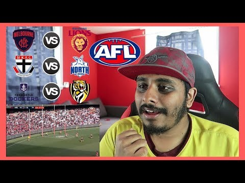 Reaction to #AFL: Melbourne v Brisbane Lions & More!!!