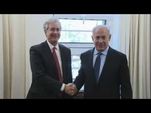 PM Netanyahu Meets Deputy US Secretary of State Burns