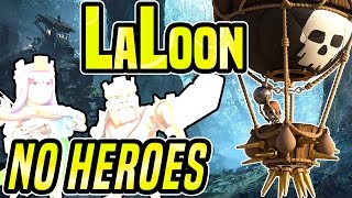 Clash of Clans   TH9 LALOON 3 STAR WAR ATTACK STRATEGY with NO HEROES