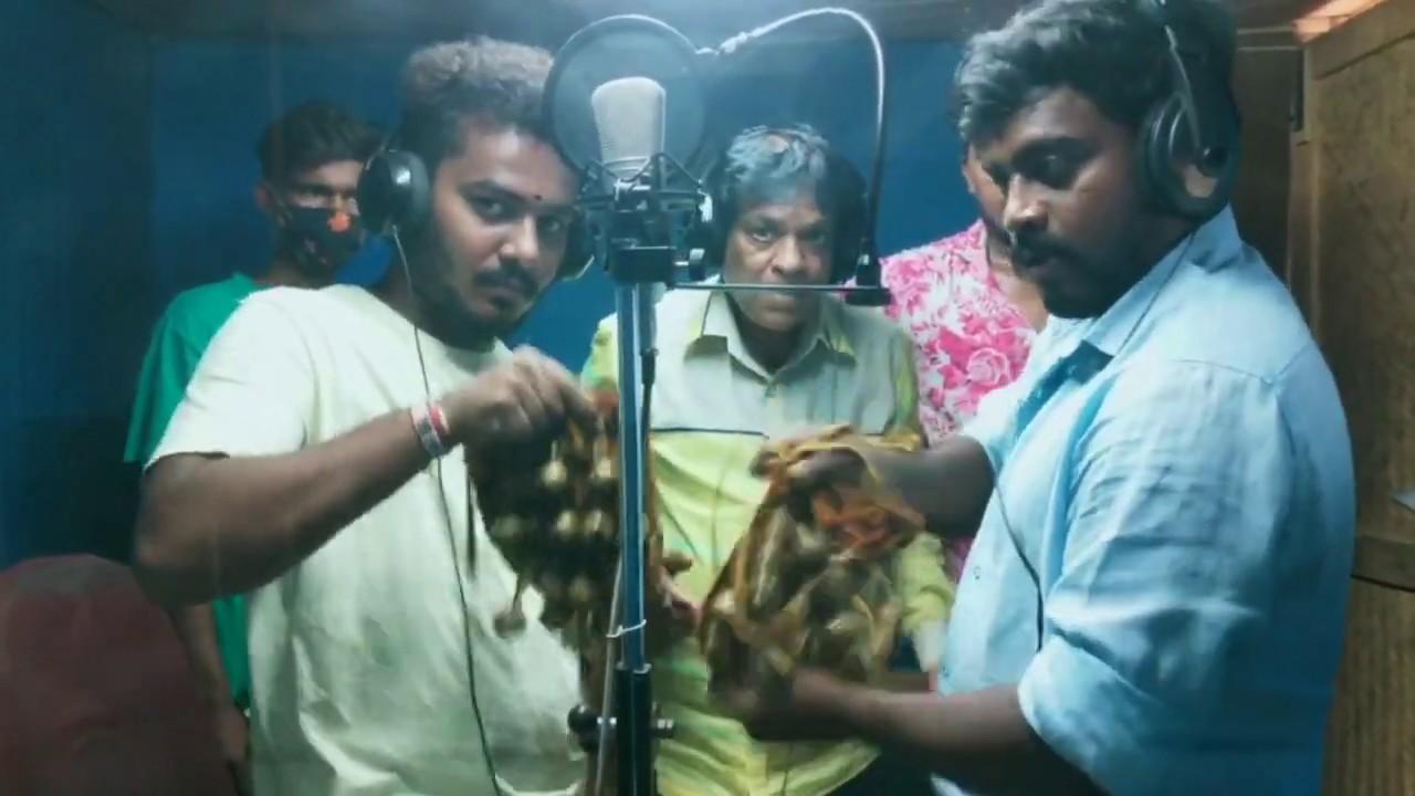 Golconda Thalwar Shiva Pothuraj Vol 3 New Song Making | Singer A Clement | #Recording