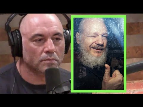 Joe Rogan on Julian Assange's Arrest