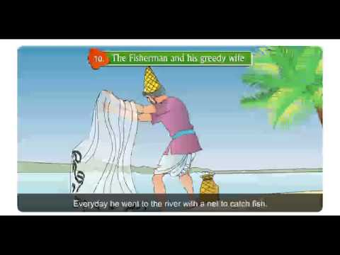 Real Life English,Class4,10 The Fisher Man And His Greedy Wife,Part01
