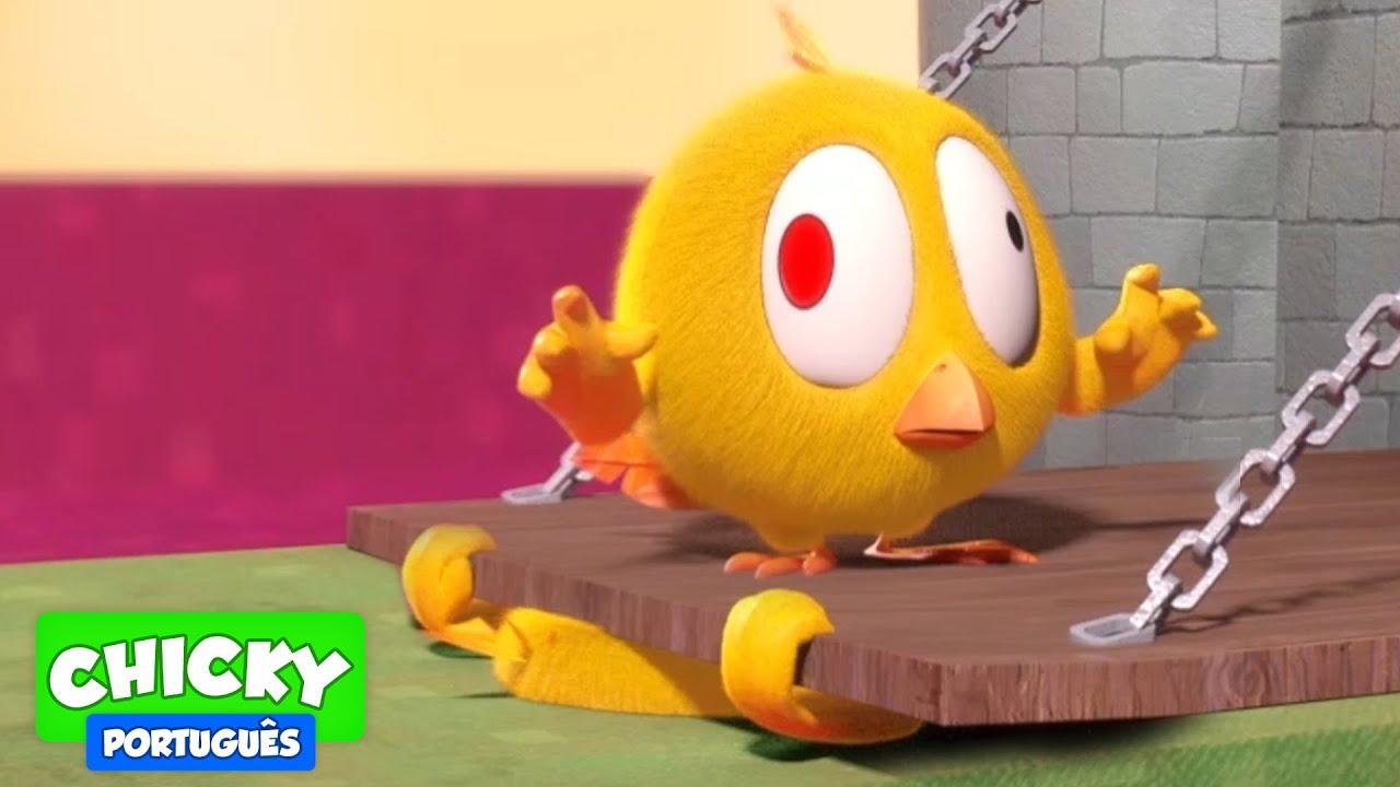 Onde está Chicky? 2020 | A PORTA DO CASTELO | Desenhos Animados Infantil