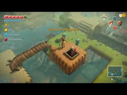 Oceanhorn Island Of Whispers - The Search For The Cursed Skulls Pt3/Maintenance Tunnels