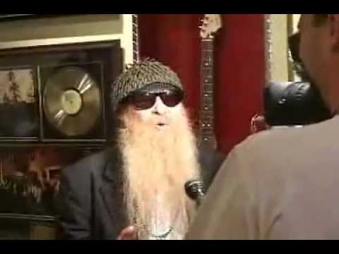 billy gibbons at rock star gallery youtube. Black Bedroom Furniture Sets. Home Design Ideas
