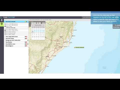 VFI Plus Tutorial 1 - How to display your fleet and vessel positions
