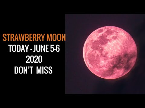 Strawberry Moon Lunar Eclipse Today June 5 6 2020 Youtube,Where Is The Cheapest Place To Live In The United States