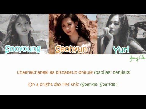 SNSD (Sooyoung, Yuri, Seohyun) - Birthday Song For Sunny lyrics