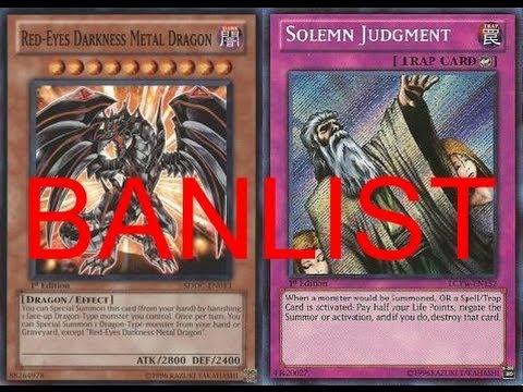 banlist banters red eyes darkness metal dragon solemn judgment