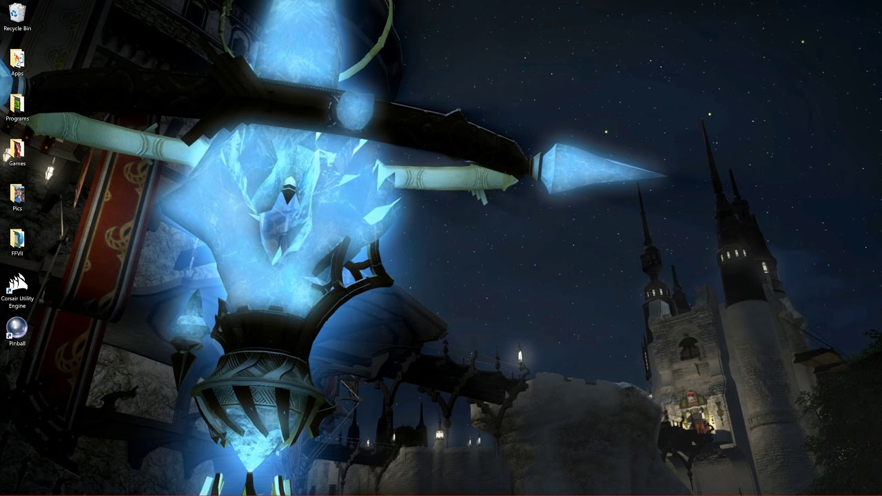 Final Fantasy Xiv Aetheryte Awesome Wallpaper Youtube