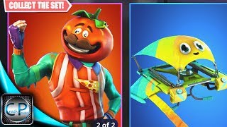 *NEW* LEGENDARY TomatoHead SKIN & Axeron Pickaxe in Fortnite!