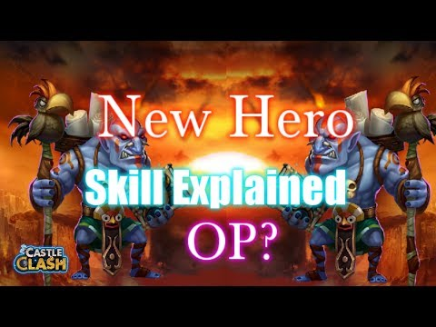 New Hero Skill Explained OP? Castle Clash