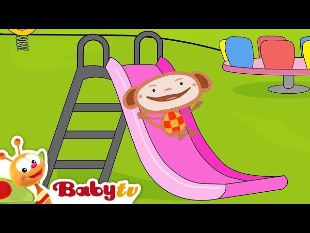 Oliver   Playground Slides   Slides for Kids   BabyTV