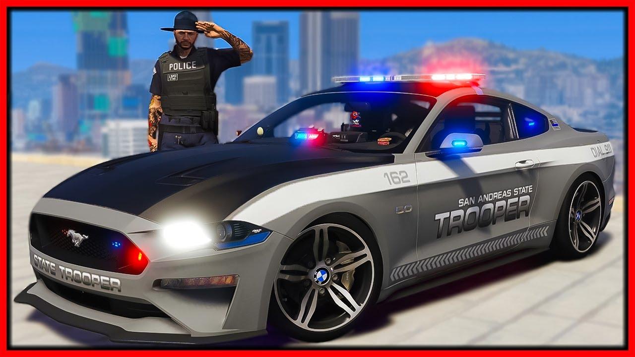 GTA 5 Roleplay - I BECOME COP & ARREST CRIMINALS   RedlineRP