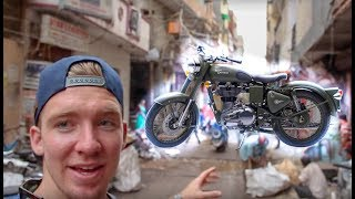 Amazing Motorcycle In INDIA! (with Conner Sullivan)