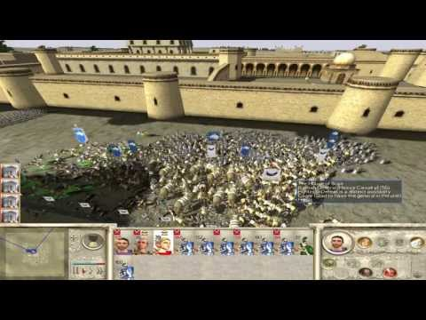 Let's play Rome:Total War Part 4 : Carthago Delenda Est