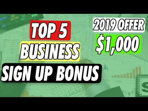 top-5-business-checking-account-sign-up-bonus-2019
