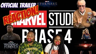 """""""Marvel Studios Celebrate the Movies"""" - Official MCU Phase 4 Trailer 