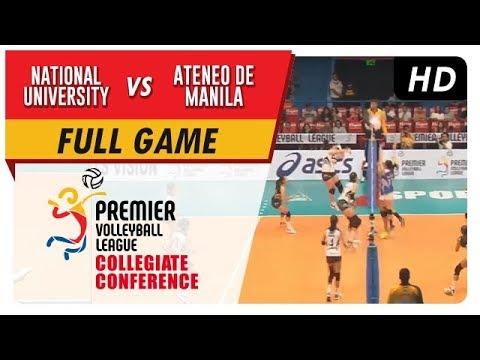 NU vs. ADMU   PVL Season 2 Collegiate Conference   Full Game   3rd Set   Sept. 30, 2017
