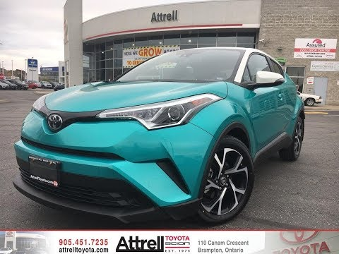 2018 Toyota C-HR TWO TONE - WHITE ROOF - Premium Package - Brampton ON - Attrell Toyota