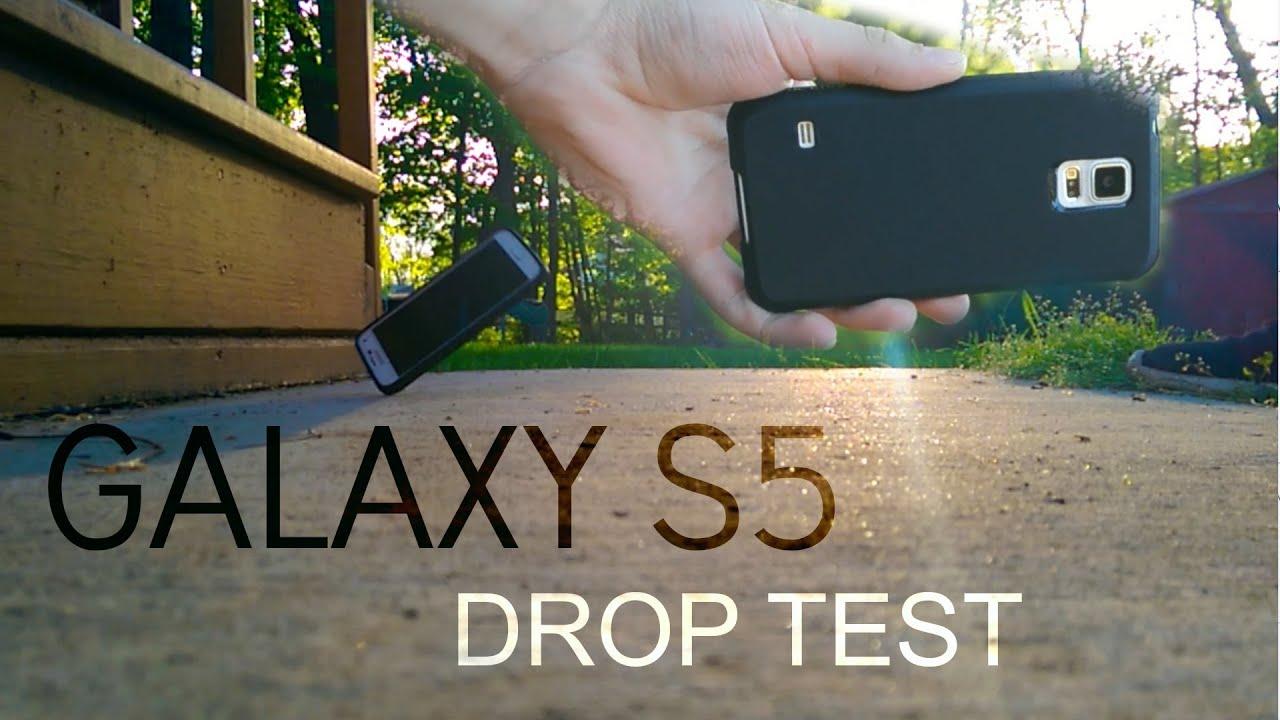 brand new c80f9 b7cd0 Samsung Galaxy S5 Drop Test! (Diztronic Matte Back Ultra Case)