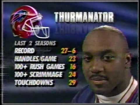 1991 week 16 Bills 12-2 at Colts 1-13 BUF-13  1H