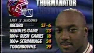 1991 week 16 Bills 12-2 at Colts 1-13 BUF-13  1H