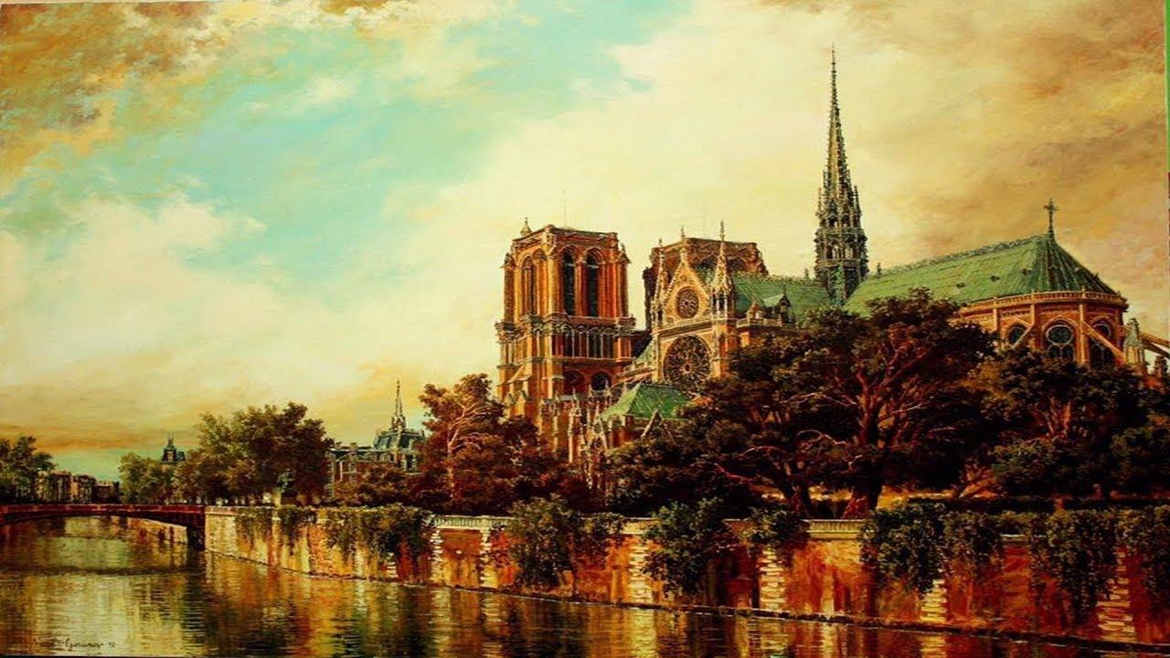 🇫🇷 Notre Dame de Paris ... Edith Piaf 🇫🇷