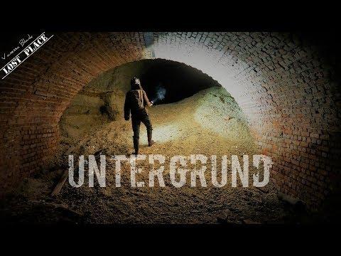 LostPlace - Der geheime Untergrund - Munitionsfund, wer hat hier geschossen? Vanessa Blank - 4K