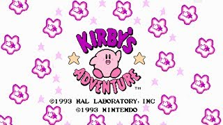Kirby's Adventure NES - Full Playthrough No Commentary