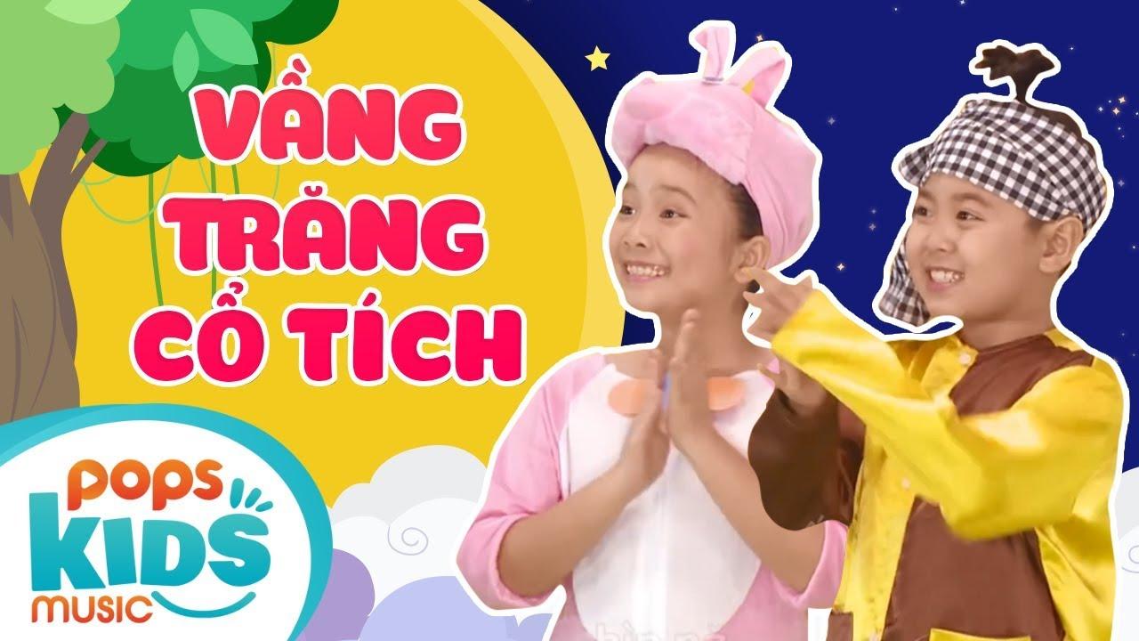 Mầm Chồi Lá - Vầng Trăng Cổ Tích | Nhạc Thiếu Nhi Trung Thu - Mid Autumn Festival Folk Song