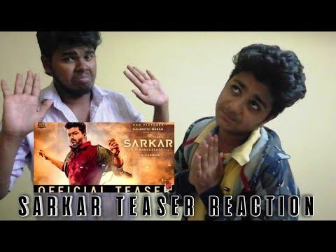 Sarkar teaser reaction by thala fans |vijay, kerthi suresh