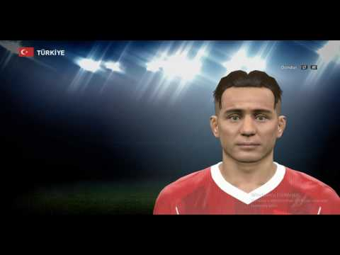 PES 2016 - EMRE MOR FACE BUILD