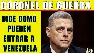 Coronel de EEUU explica como puede ser la intervención en Venezuela