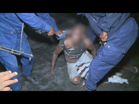 """Alerte à la """"bombé"""" : toxicomanie et répression à Kinshasa • FRANCE 24"""