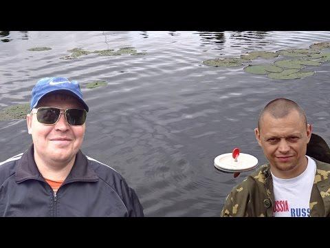 ловля кружками на мелководье