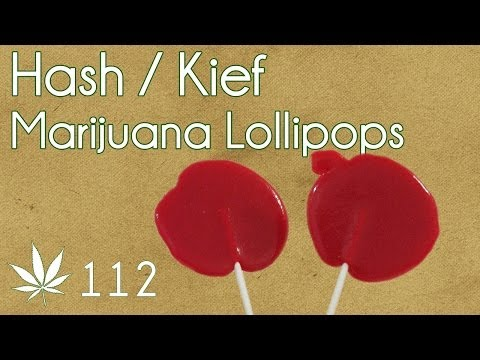 Hash / Kief Lollipops Cooking with Marijuana #112 Cannabis Candy