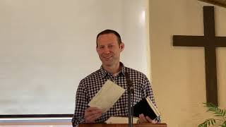 Pastor Hopkins delivers the sermon for Mar. 28th, 2021