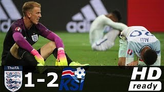 England vs Iceland 1 2 All Goals & Highlights   Elimination EURO 2016 HD   YouTube